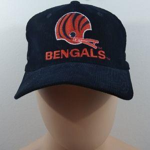 Vintage NFL starter courderoy Bengals snapback